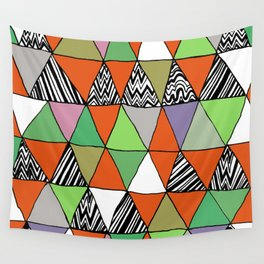 Triangle 2 Wall Tapestry