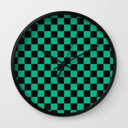 Tanjiro Pattern Wall Clock