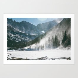 JEWEL LAKE 01 Art Print
