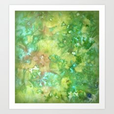 Greenwoods Abstract Art Print