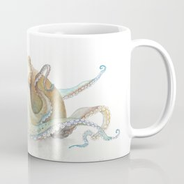 Watercolor Octopus Coffee Mug