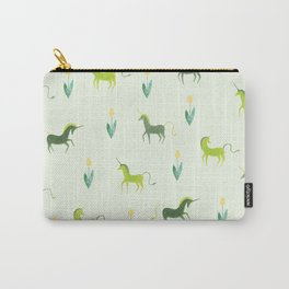 Unicorn garden Carry-All Pouch