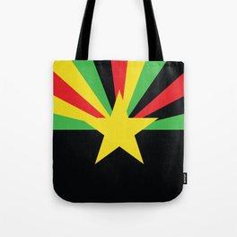 Arid Rasta Vecta Tote Bag