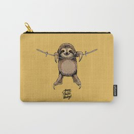 Hang in There Baby Sloth Carry-All Pouch
