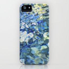Jeweled Diamond Water Pond iPhone Case
