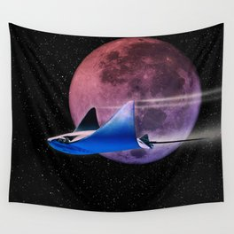 Exploring Stingray Wall Tapestry