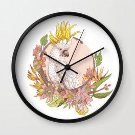 cacatoes Wall Clock