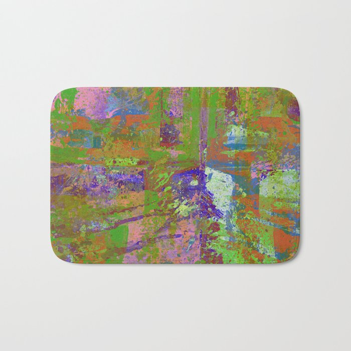 Abstract Thoughts Bath Mat