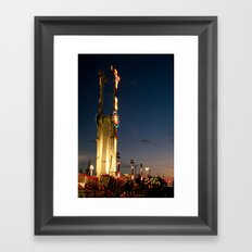 Los Angeles Fair Framed Art Print