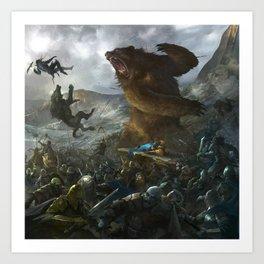 Five Armies Art Print