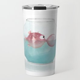 Puffer Fish Travel Mug