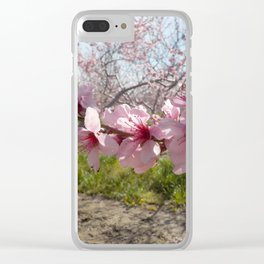 Branch of Blossoms Clear iPhone Case