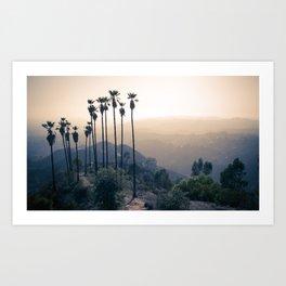 Hollywood Via Griffith Park I Art Print