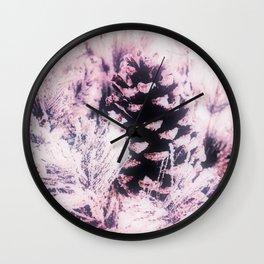 White Pine, Christmas Snowfall Wall Clock