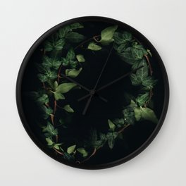 Hedera helix Wall Clock