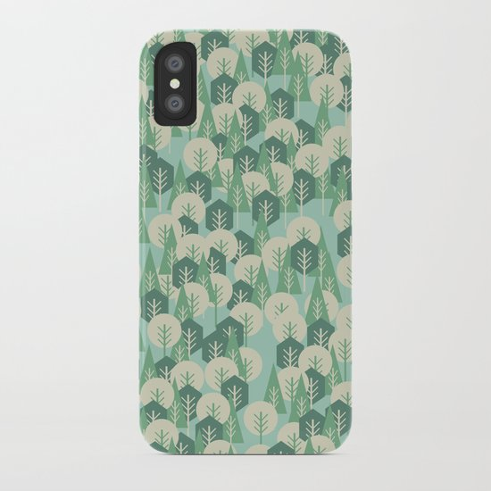 Geometric Woods iPhone Case