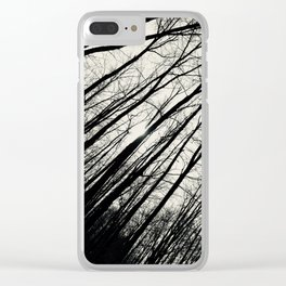 Forest Through The Trees Clear iPhone Case