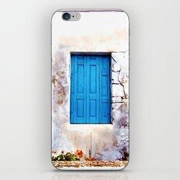 Cretan Door No2 iPhone Skin