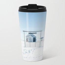 Winter, Galpin Church, Montana Travel Mug