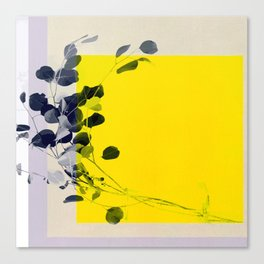 grayellow_mood Canvas Print