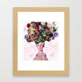 Bardot In A Bouquet 3 Framed Art Print