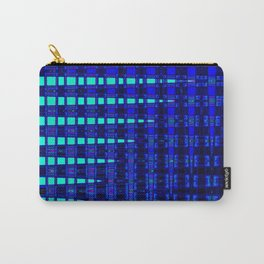 Blue in Shadows Carry-All Pouch