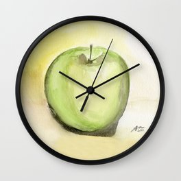 Granny Smith Wall Clock
