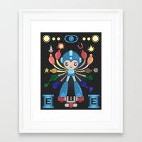 megaman Framed Art Prints featuring MegaMan Shrine by MattBlanksArt