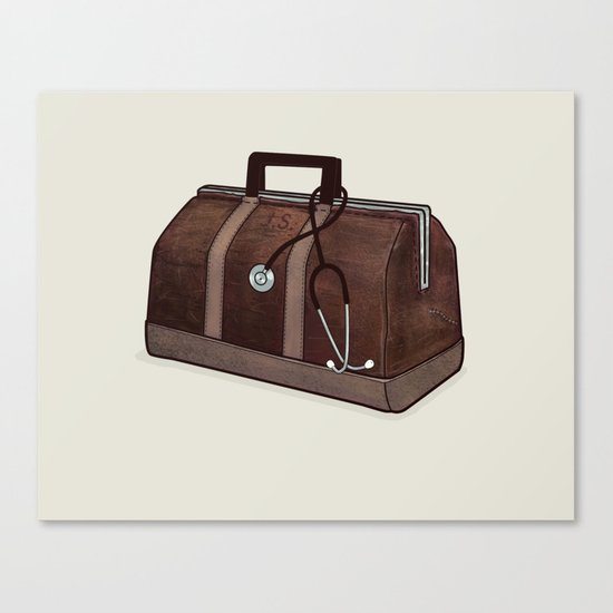 LOST Luggage / Jack Canvas Print