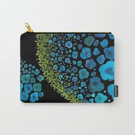 Paths of Color [Turquoise, Blue and Green] Carry-All Pouch