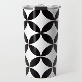 Geometric Pattern #65 (circles) Travel Mug