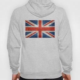 "UK British Union Jack flag ""Bright"" retro Hoody"