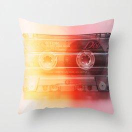 Cassette#exposure#film#effect Throw Pillow