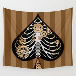 steampunk pica Wall Tapestry