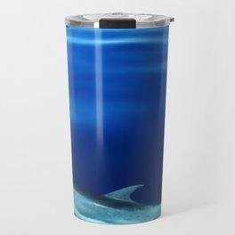 Dolphin and blues Travel Mug