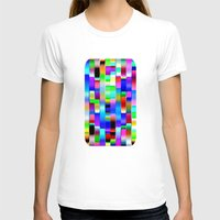 computer T-shirts featuring Hello Computer by NatalieCatLee