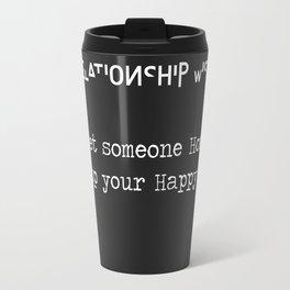 Relationship Wise Travel Mug