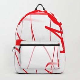 red line of the soul Backpack