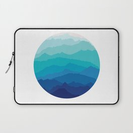 Blue Mist Mountains Laptop Sleeve