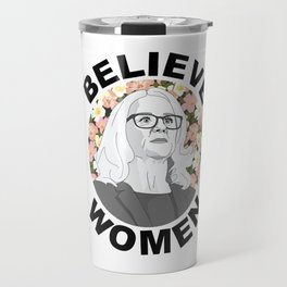 Believe Women Travel Mug