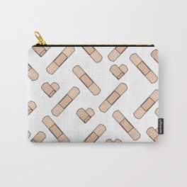 Bandage Pattern Carry-All Pouch
