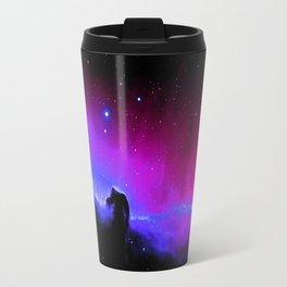 nEbulA : Horsehead Nebula Fuchsia Purple Blue Travel Mug