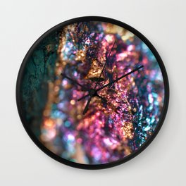 Peacock Ore Wall Clock