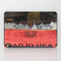 radiohead iPad Cases featuring Radiohead 20 by W. Keith Patrick