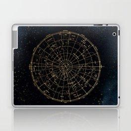 Golden Star Map Laptop & iPad Skin