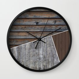 Material Palette Wall Clock