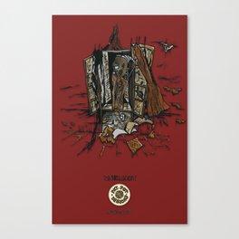 Window (INKollection) Canvas Print