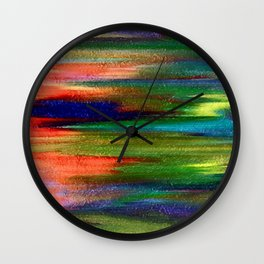 Abs pastel Wall Clock
