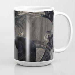 Gothic Friesian Horse Coffee Mug