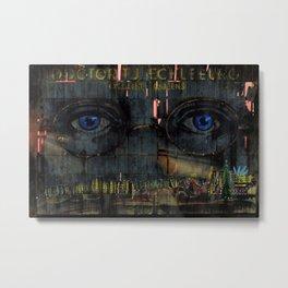 The Eyes of God Portrait by Jeanpaul Ferro Metal Print
